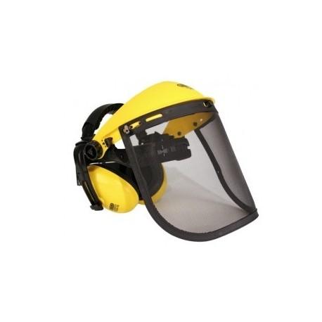 Zestaw przyłbicy ochronnej dla kosiarza (siatka metalowa+opakowanie displayowe)