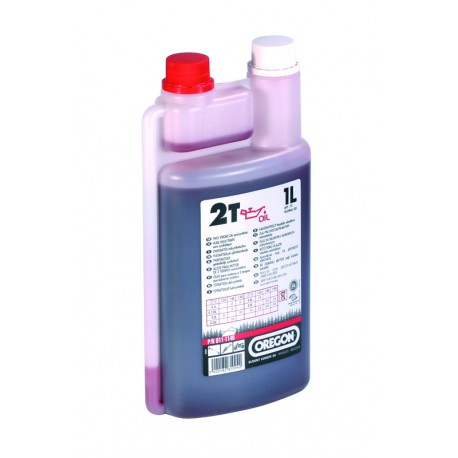 2-T õli Oregon 1L poolsünt  (punane)