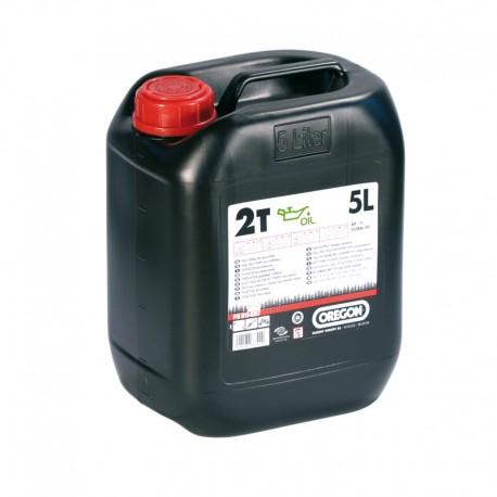 2-T õli Oregon 5L poolsünt  (roheline)