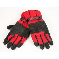 Rękawice skórzane zimowe dla pilarza Fiordland, L