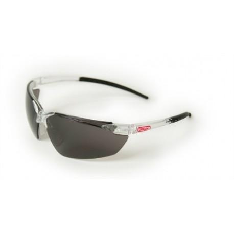 Okulary ochronne - szkła pliwęglanowe, czarne